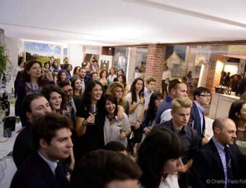 Final toast at Vinitaly 2014