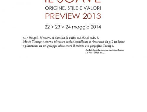 Il Soave Preview 2013- Origin, Style and Value